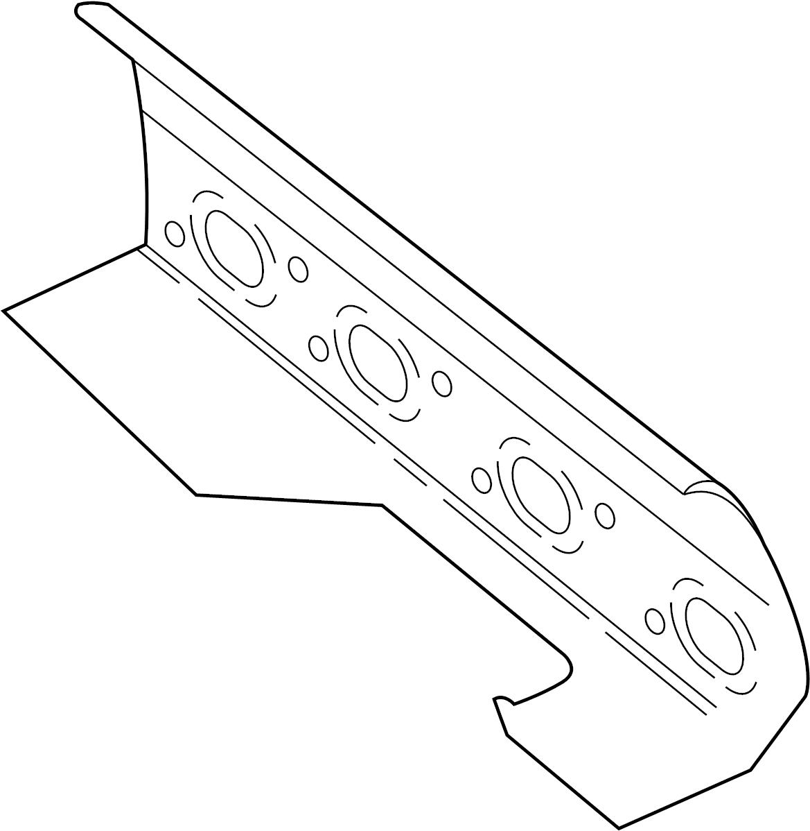 Jaguar XKR Exhaust Manifold Gasket. Right, SYSTEM