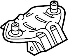 Jaguar XJ6 Engine cradle mount. Mount bracket. Mounting