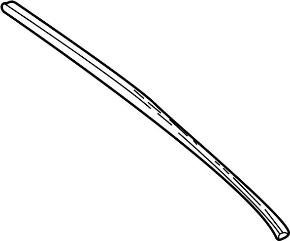 Jaguar XJ8 Windshield Wiper Blade Refill. Washer