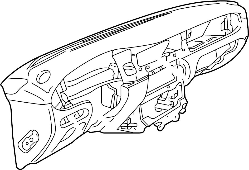 Jaguar XJ8 Dashboard Panel. Instrument, Antelope, Body