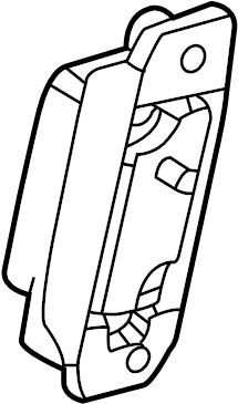 Jaguar Vanden Plas Air Bag Impact Sensor. Side, Pillar