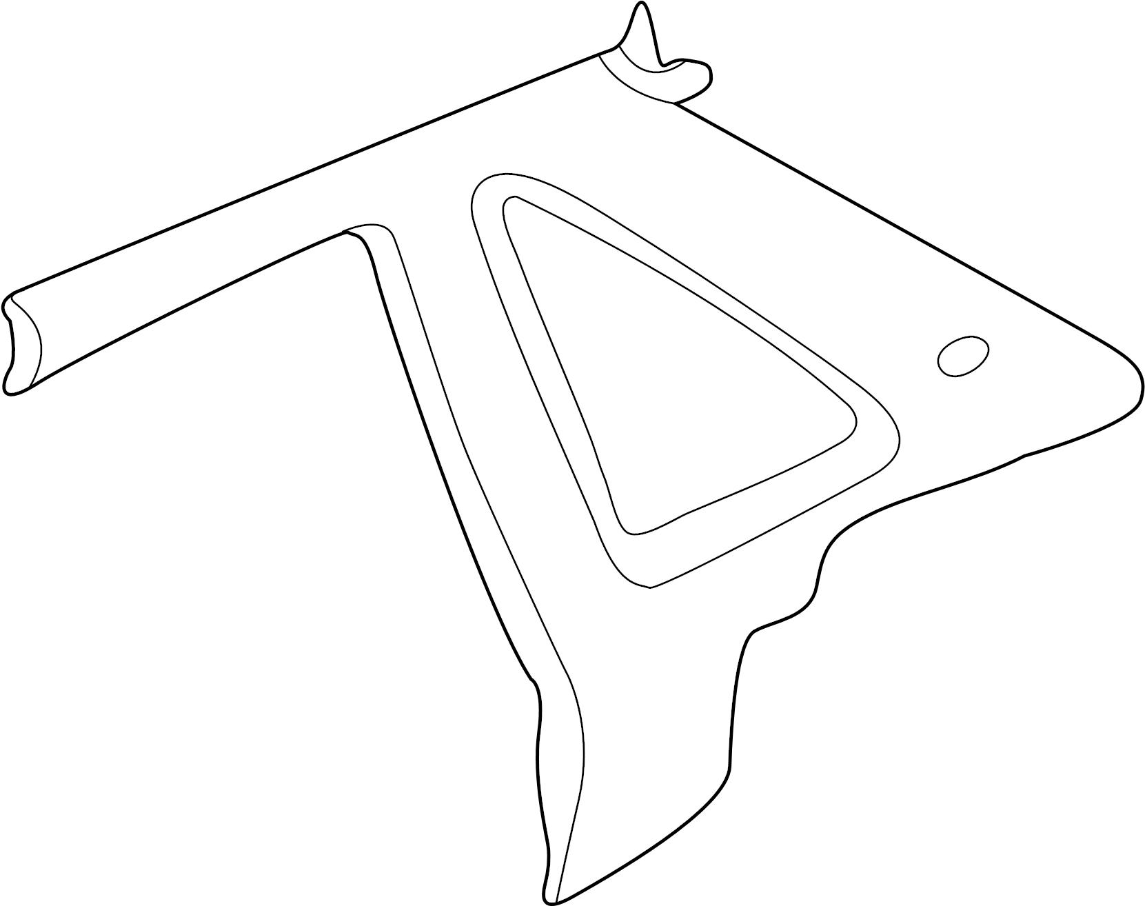 Jaguar XJ8 Interior Quarter Panel Trim Panel (Rear, Lower