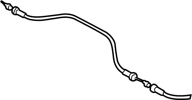 Jaguar Vanden Plas Hood Release Cable. Leaper, Replace