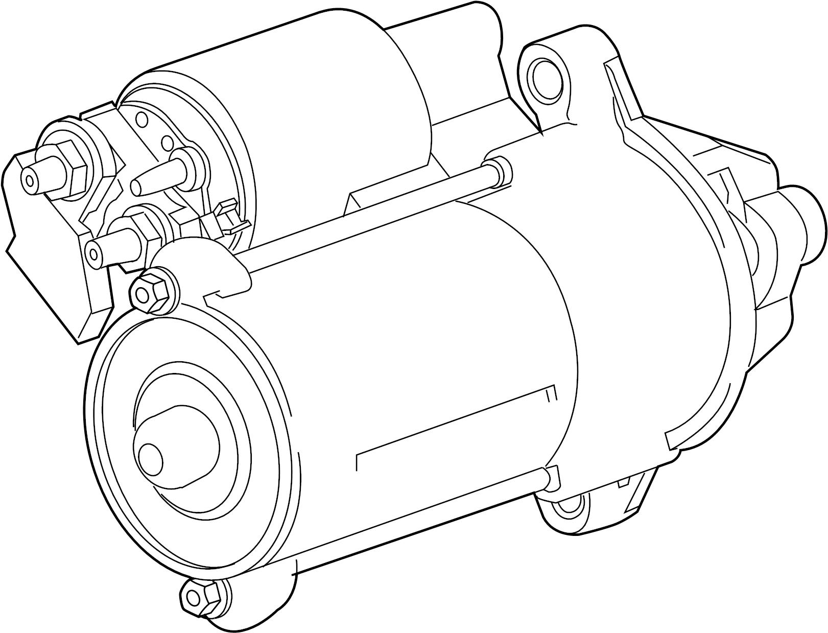 Jaguar Vanden Plas Starter Motor. LITER, Stop, WStop