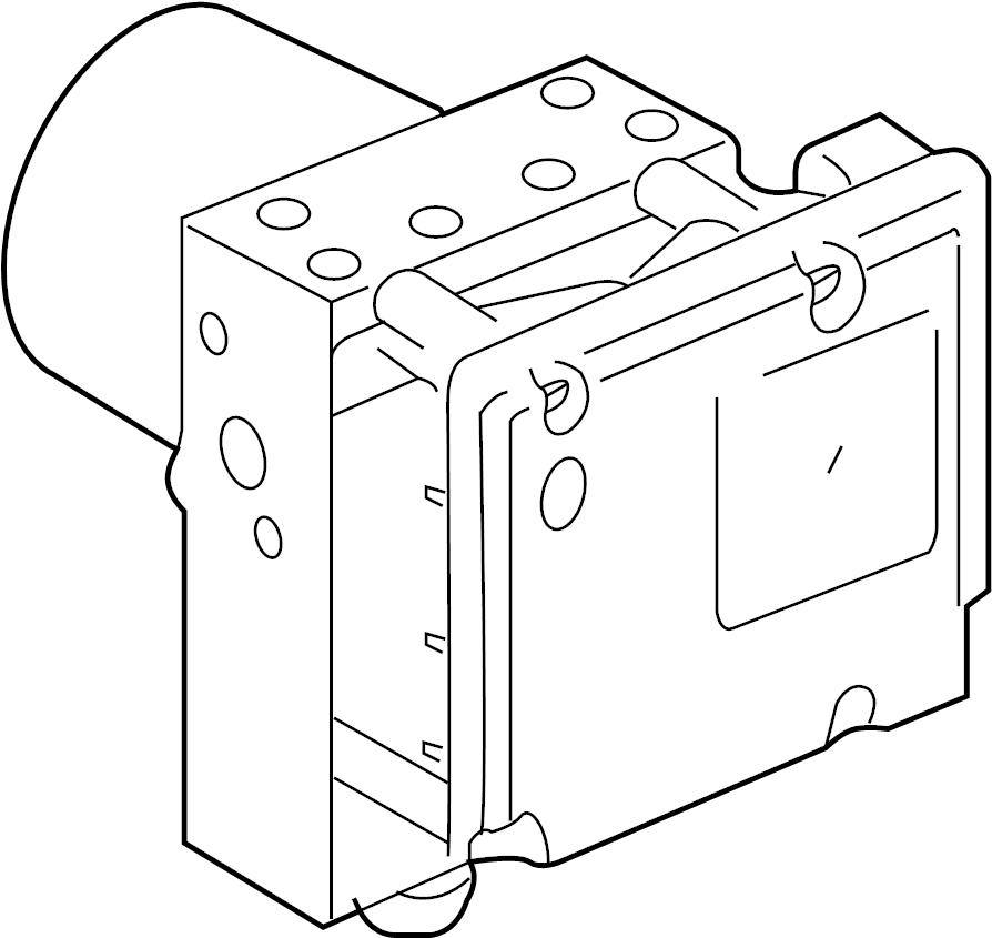 Jaguar Vanden Plas Abs modulator. Xj, xk; s-type; all. Xj