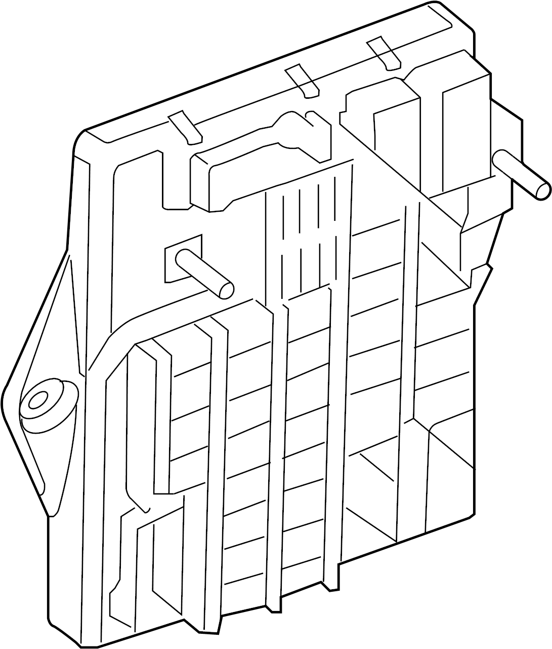 Jaguar Vanden Plas Fuse AND relay box. Fuse box. FUSEBOX
