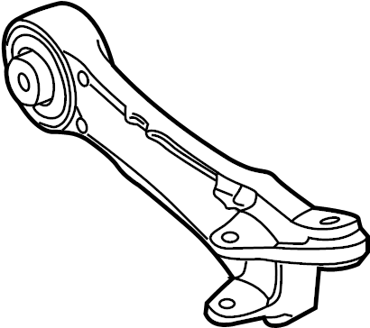 Jaguar XKR Suspension Control Arm (Rear, Lower). WXFR