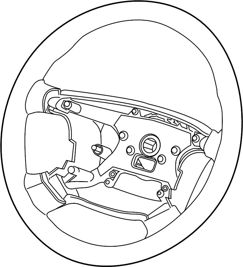 Jaguar XK8 Steering Wheel. W/o heat, maple. XJ, XK; Sedan
