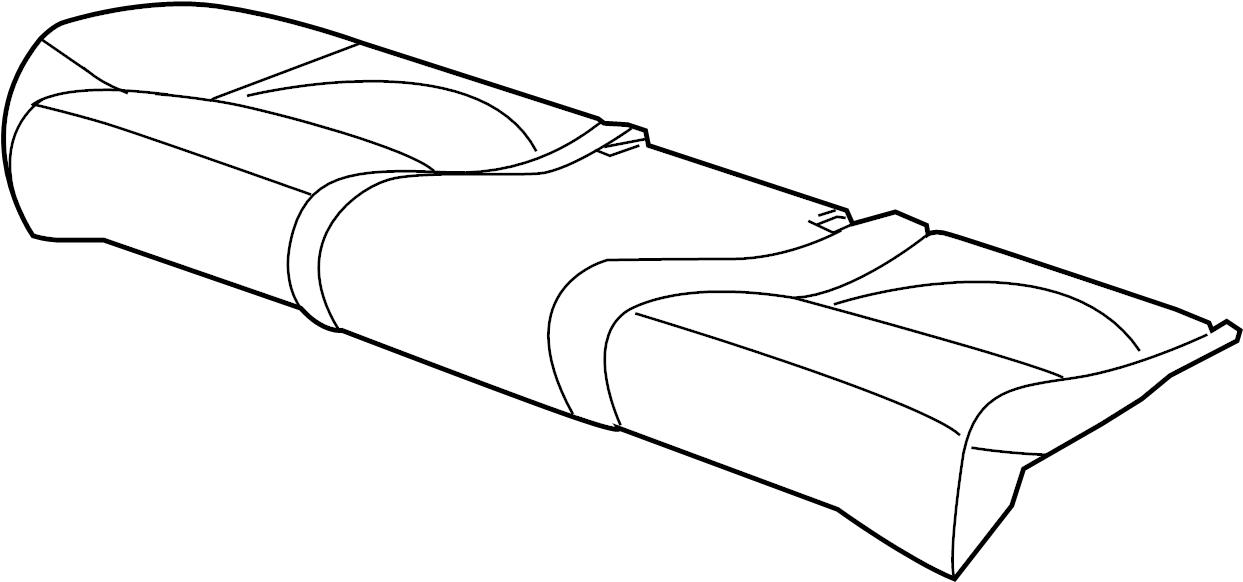 Jaguar XJR Seat Cover. PLAIN R SERIES, 2004-05, charcoal