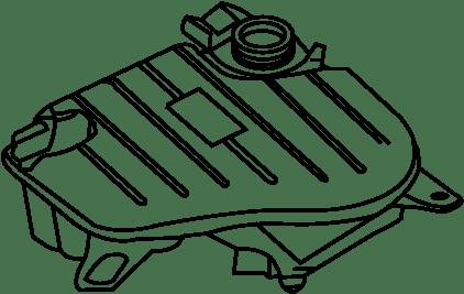 Jaguar XF Engine Coolant Hose. SUPERCHARGER, LITER