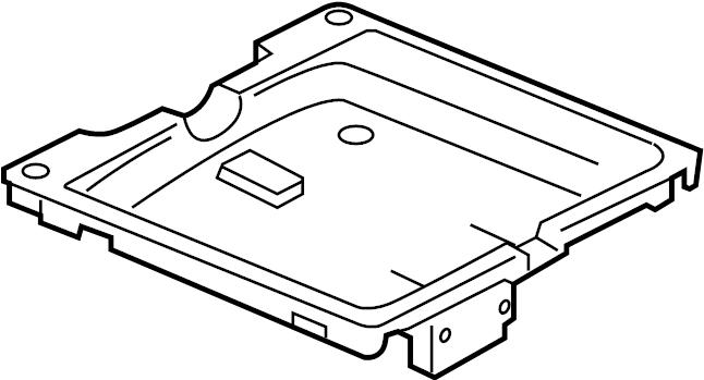 Jaguar XJR Video Monitor Bracket. Holder, Control