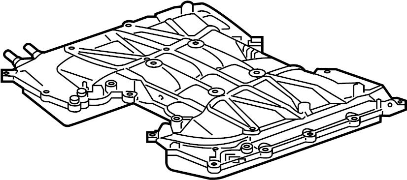Jaguar XF Gasket. Manifold. Intake. (Upper). WSupercharger