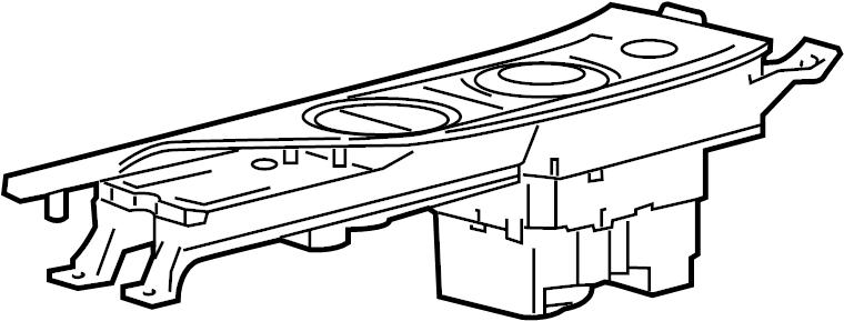 Jaguar XJ Automatic Transmission Shift Cover Plate