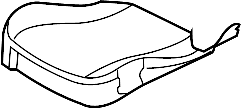 Jaguar XJR Seat Cushion Foam. LUXURY SERIES. PREMIUM
