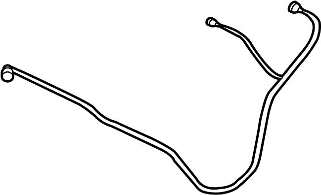 Jaguar XJR Evaporative Emissions System Lines. Vapor hose