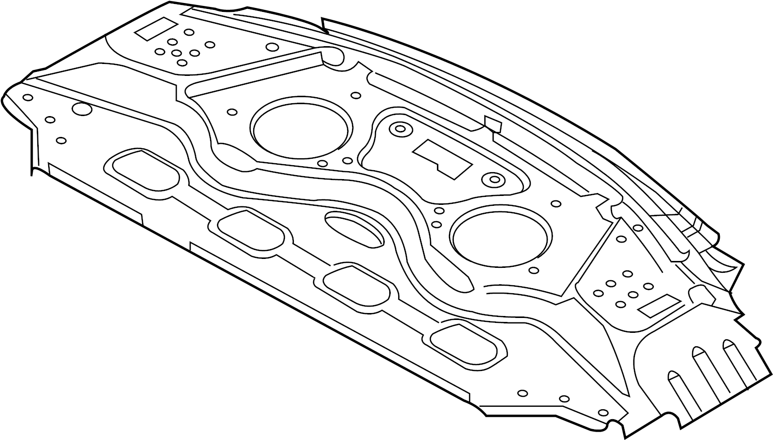 Jaguar Xjr575 Insulator Upper Body Rover Rear Left