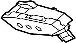 Jaguar XJ Trunk Lid Pull Down Motor. Trunk Lock Actuator