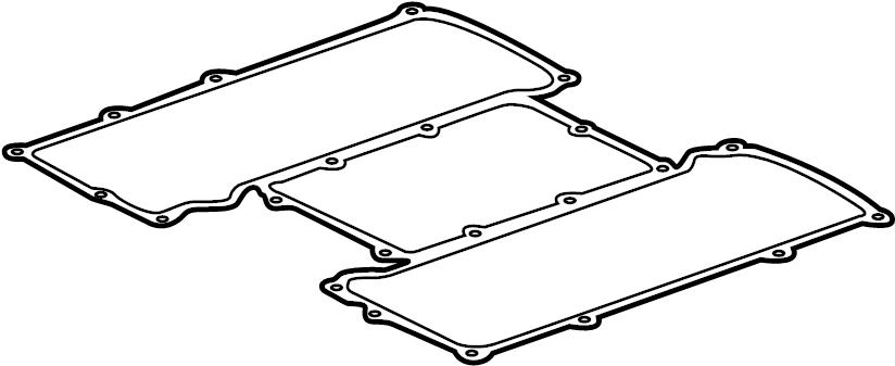 Jaguar XF Gasket. Manifold. Intake. (Upper). LITER, Engine