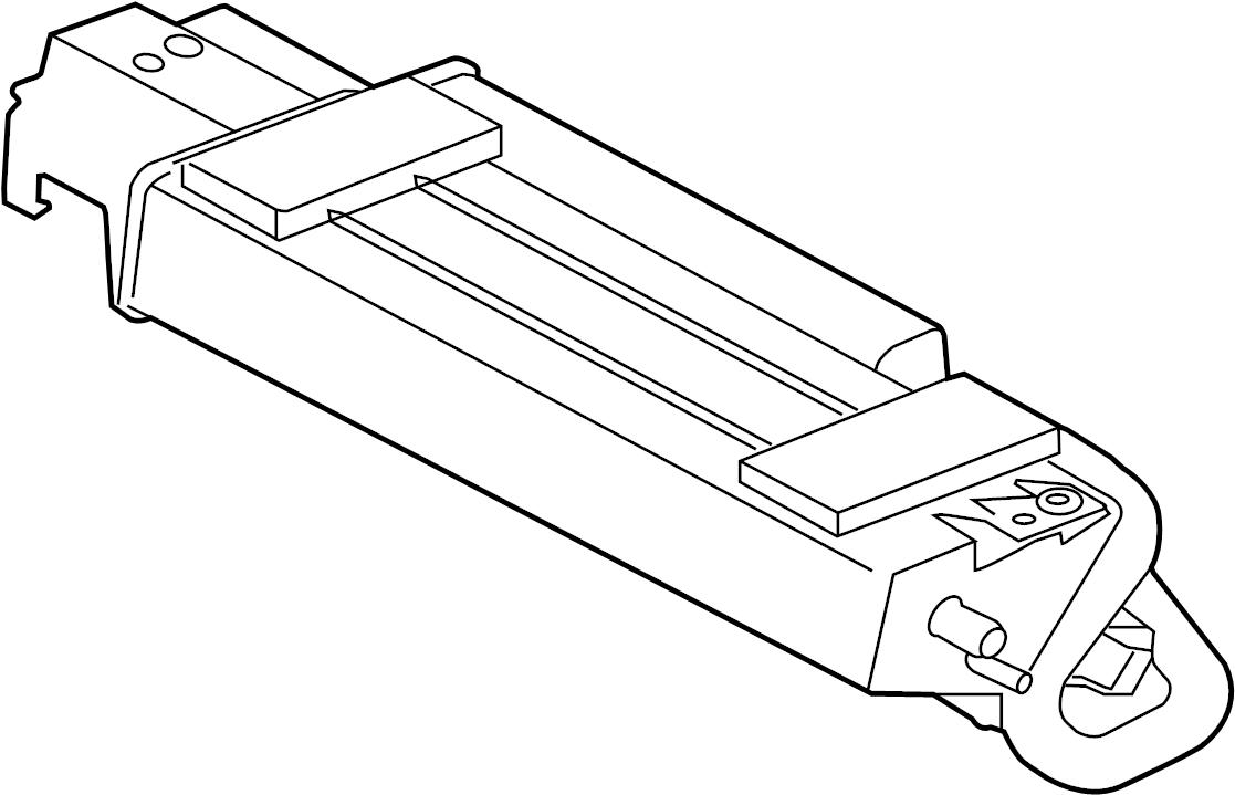 Jaguar S-Type Vapor Canister. LITER, SUPERCHARGER