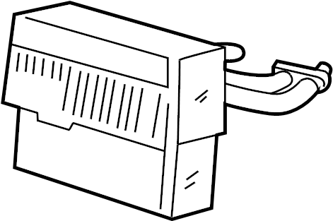 Jaguar XJ6 A/c evaporator core. Air conditioning (a/c