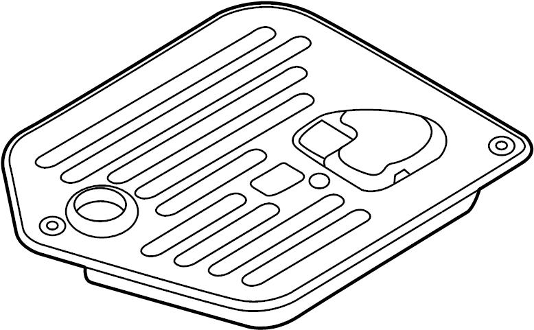 Jaguar Vanden Plas Transmission Filter. Wsupercharger