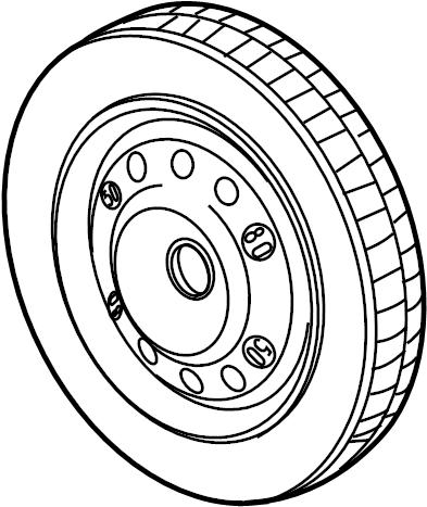 Jaguar XK8 Spare Tire. Spare wheel. Part number includes