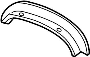 Jaguar XJ8 Steering Column Cover (Upper). Lower, Trim
