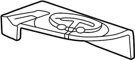 Jaguar XK8 Seat Belt Guide. CONVERTIBLE, coffee. Rear