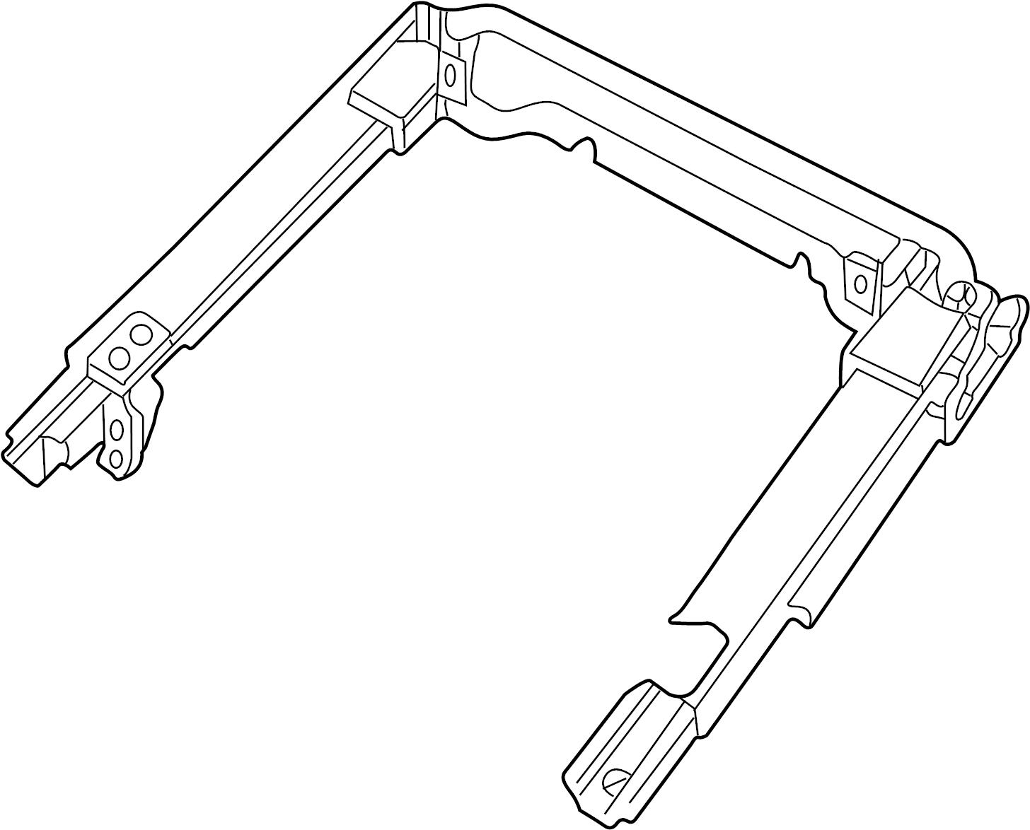 Jaguar XK8 Seat Adjuster. Memory, Height, Right