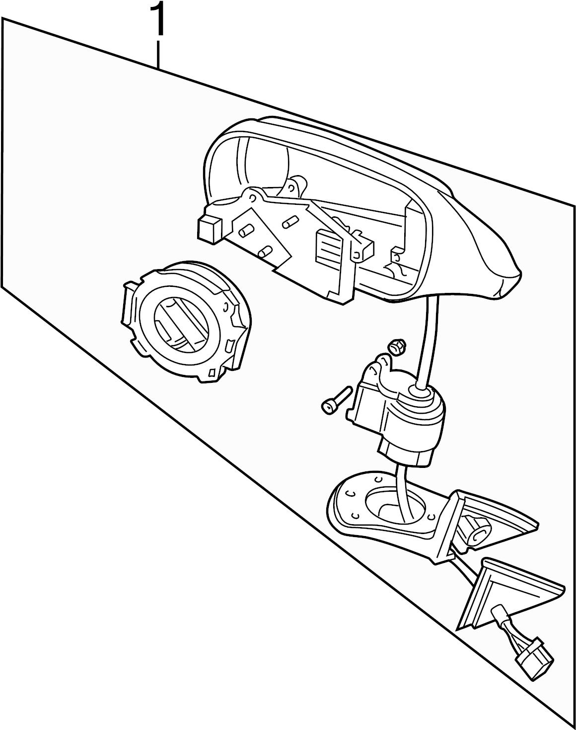 Jaguar Xj6 Door Mirror Drive Motor Memory Convertible