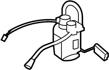 Jaguar XK8 Fuel gauge sending unit. Fuel pump. Module-fuel