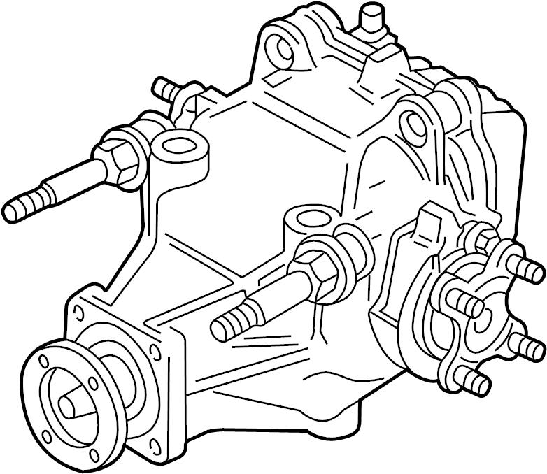 Jaguar XK8 Drive Axle Assembly. W/supercharger. XJ, XK