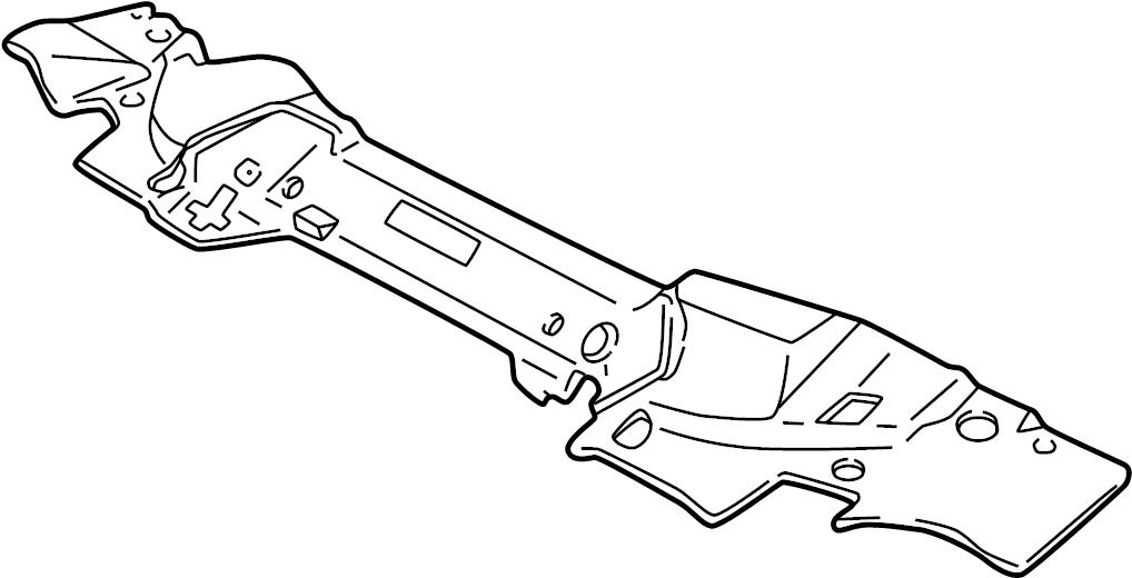 Jaguar S-Type Radiator Support Access Cover. 3.0 LITER. 4