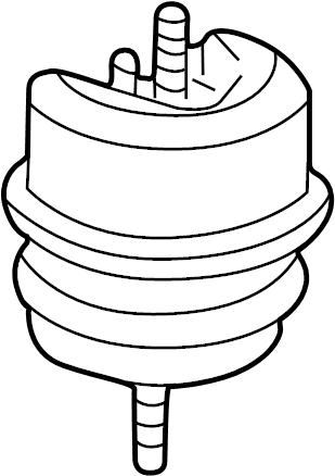 Jaguar S-Type Front mount. Motor mount. Mounting-engine. 3