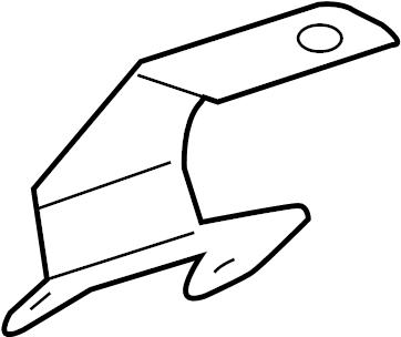 Jaguar S-Type Bracket-engine c. Engine cover bracket. 3.0