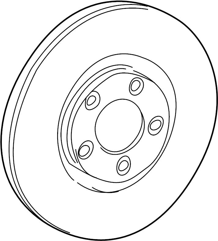 Jaguar Vanden Plas Disc Brake Rotor. Supercharger