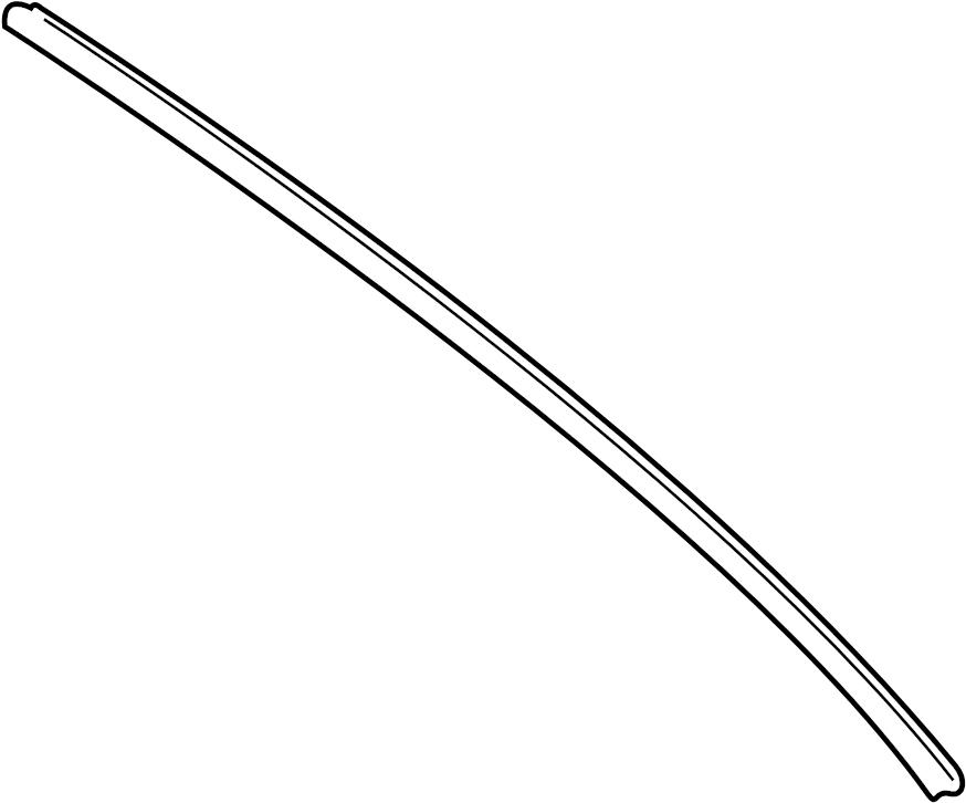 Jaguar Vanden Plas Rubber-wiper. Wiper blade insert. Wiper
