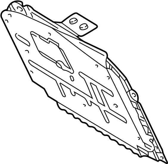 Jaguar S-Type Compartment hinge pin. Glove Box Door Hinge