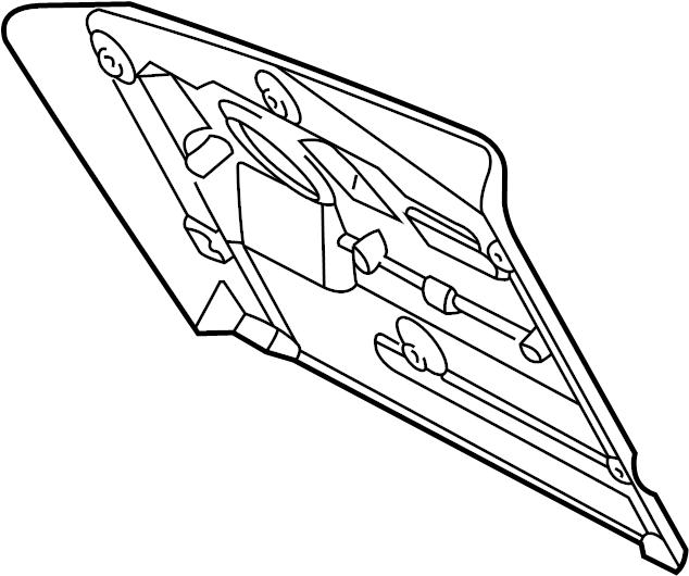 Jaguar S-Type Glove. Panel. Cover. Box. Door. Frame blank