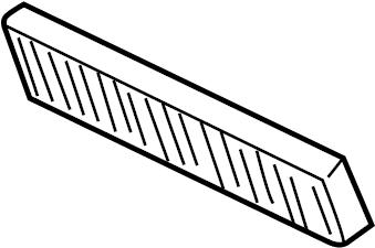 Jaguar X-Type Cabin Air Filter. Temperature, Climate