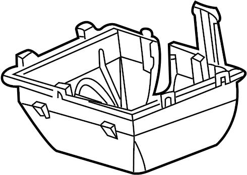 Jaguar X-Type Fuse Box Cover. Center. Dynamic, Cntrl, HID