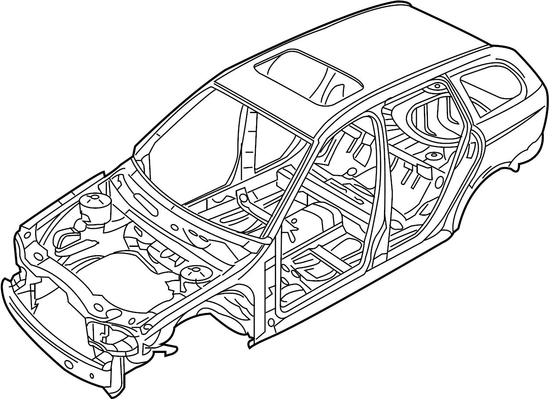 Jaguar X Type Body Assembly Bodyshell Vehicle Body Shell