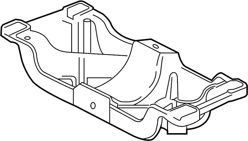 Jaguar XK Automatic Transmission Mount Bracket. Bracket