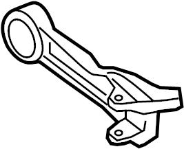 Jaguar XKR Suspension Control Arm (Rear, Lower). WXFR