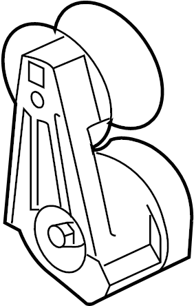 Jaguar XKR Accessory Drive Belt Tensioner Assembly
