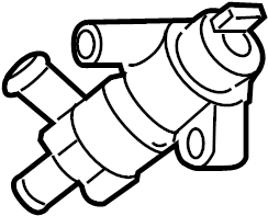 Jaguar XJR Engine Auxiliary Water Pump. Air, Conditioner