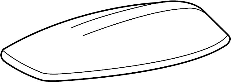Jaguar XF Radio Antenna Mast. Navigation, Repair