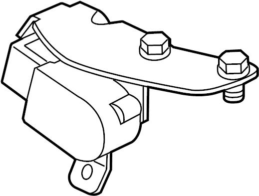 Jaguar XF Headlight Level Sensor (Front). HEADLAMP, System
