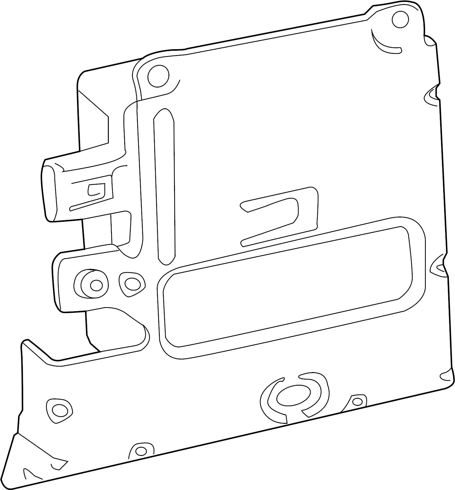 Jaguar Xf Blind Spot Detection System Warning Sensor
