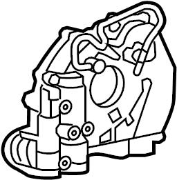 Jaguar Vanden Plas Engine Oil Pump. Engine Oil Pump. Pump